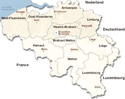 Carte Belgique Villes.Annuaire Des Sites Officiels Des Villes Et Communes De Belgique